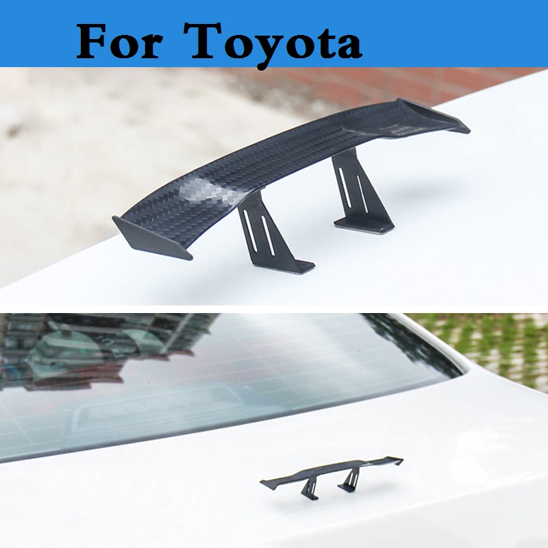 Oto Kuyruk Hatchback Otomobil Modifikasyon Parçaları IÇIN Spoiler Wings Toyota 4 Runner Allex Allion Altezza Aurion Auris Avalon Venza