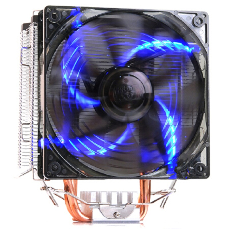 Pccooler X5 5 Isı borusu 120mm fan Intel 775 için led 4pin PWM 1151 1155 1150 1156 AMD AM4 AM3 CPU soğutucu isı emici fan radyatör